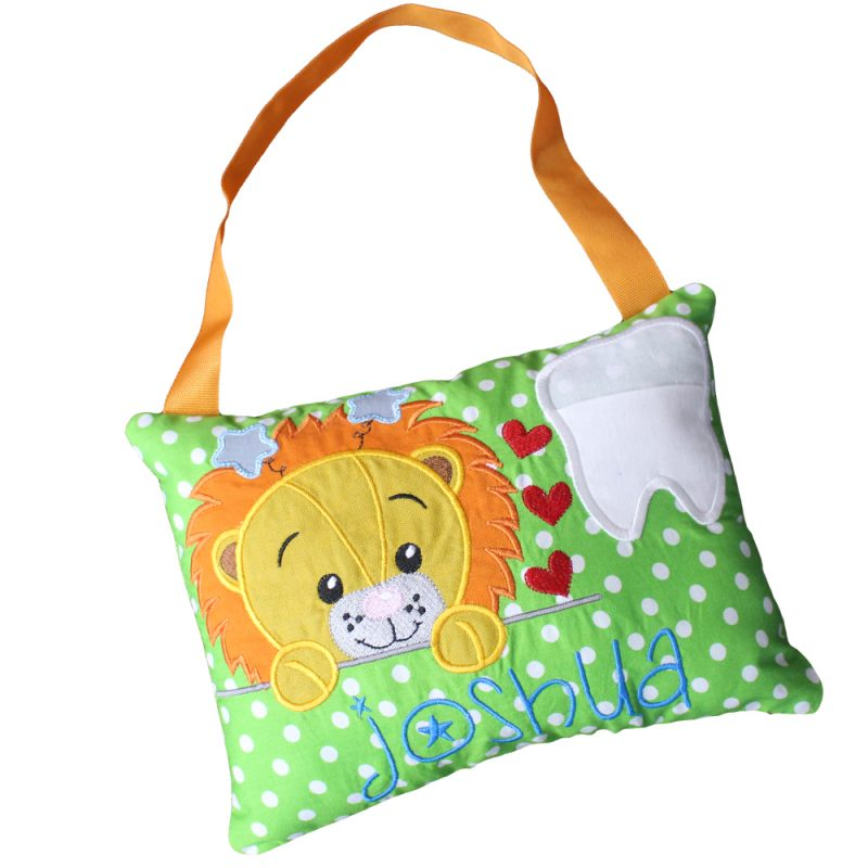 Tooth fairy pillow lion
